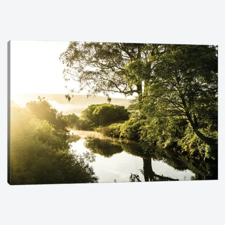 Morning Glory Canvas Print #HRB57} by Heather Roberson Canvas Artwork