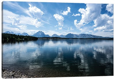 Jackson Lake Canvas Art Print