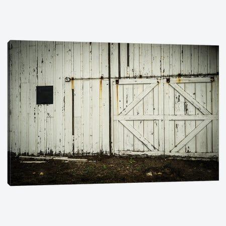 Barn Doors Canvas Print #HRB83} by Heather Roberson Canvas Art