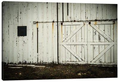 Barn Doors Canvas Art Print