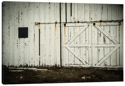 Barn Doors Canvas Art Print