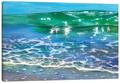 Rainbow Tide Canvas Art Print
