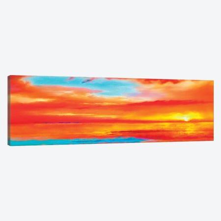 Scarlet Skies Canvas Print #HRH13} by HRH EMERALD Art Print