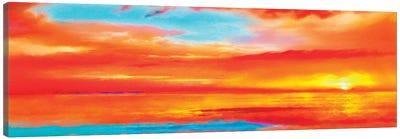 Scarlet Skies Canvas Art Print