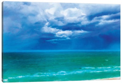 Stormy Skies Canvas Art Print