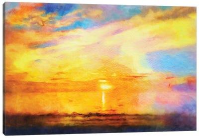 Sunset Melody Canvas Art Print