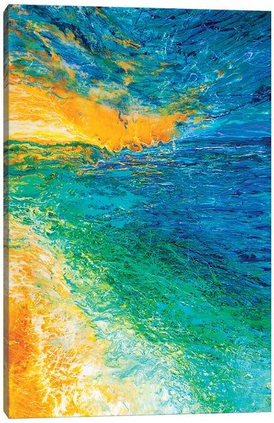 Green Shores Canvas Art Print