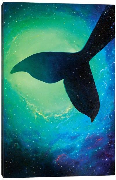Star Whale Canvas Art Print