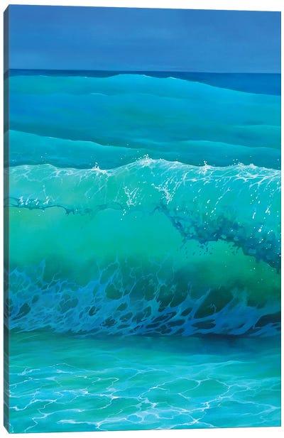Blue Veil Canvas Art Print