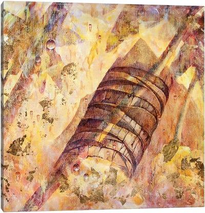 The Piton Mountains Canvas Art Print
