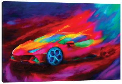Lamborghini Hurricane Canvas Art Print