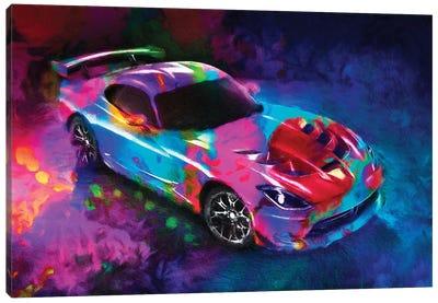 Dodge Viper Canvas Art Print