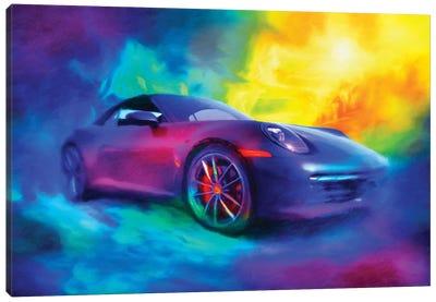 Porsche 911 Canvas Art Print