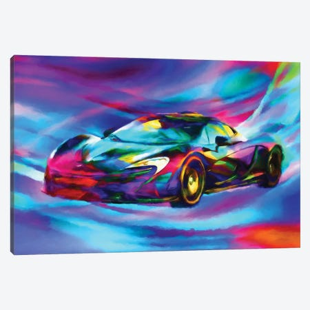 Mcclaren Canvas Print #HRH33} by HRH EMERALD Canvas Art Print