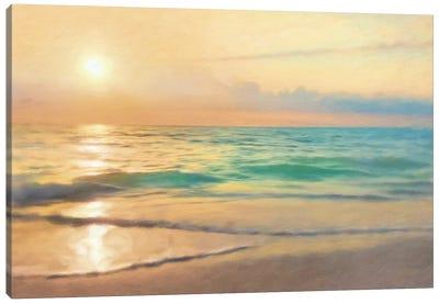 Peaceful Sunset Canvas Art Print