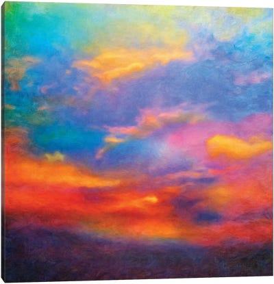 Purple Sky Canvas Art Print