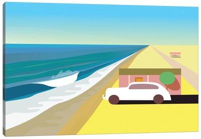 Desert Beach Canvas Art Print