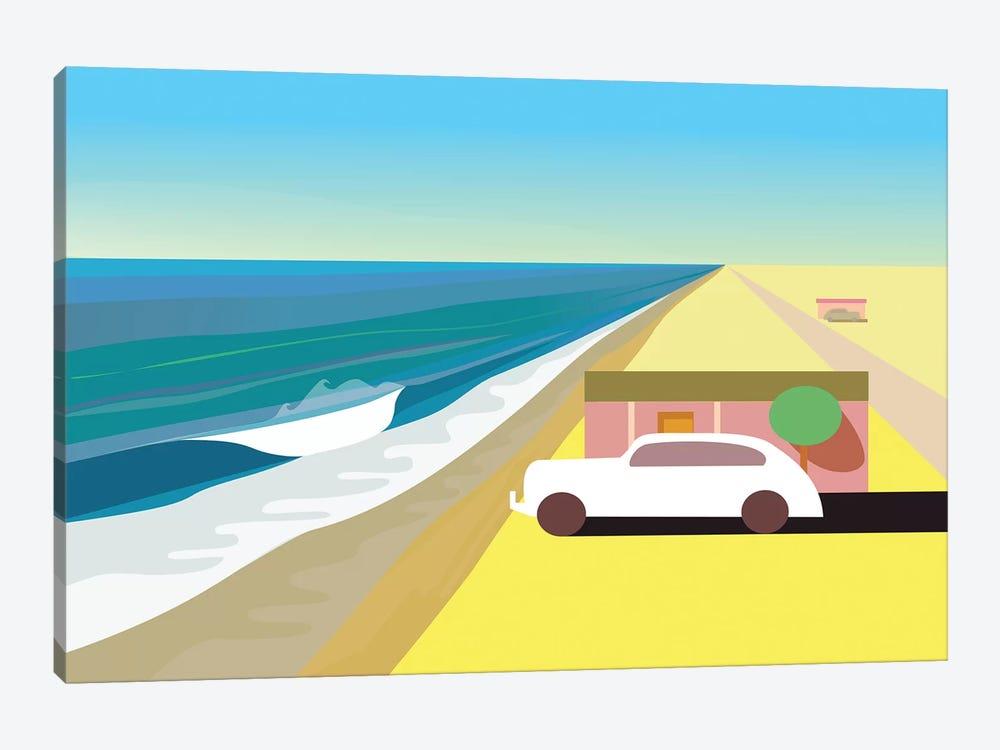 Desert Beach by Charles Harker 1-piece Canvas Wall Art