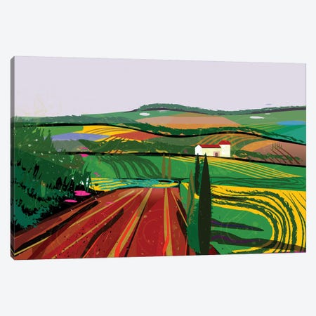 Farm No. 8 Canvas Print #HRK101} by Charles Harker Canvas Art