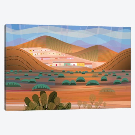 La Choya Canvas Print #HRK102} by Charles Harker Canvas Artwork