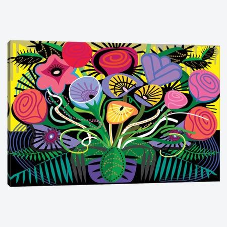 Penacho Flowers Canvas Print #HRK110} by Charles Harker Canvas Print