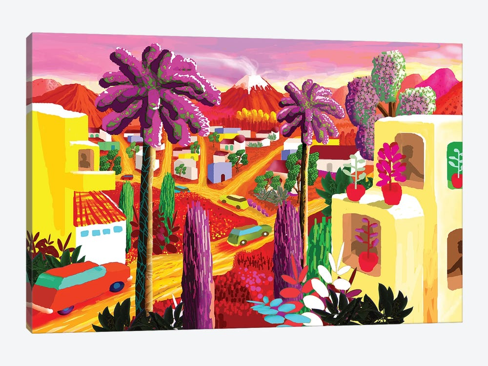Quauhnahuac after Chelas by Charles Harker 1-piece Canvas Artwork