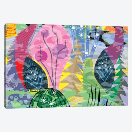Fluttering Heart Canvas Print #HRK115} by Charles Harker Canvas Artwork