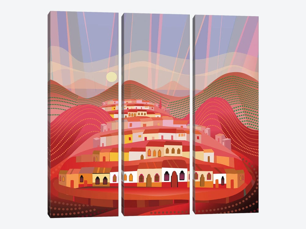 Michoacan by Charles Harker 3-piece Canvas Artwork
