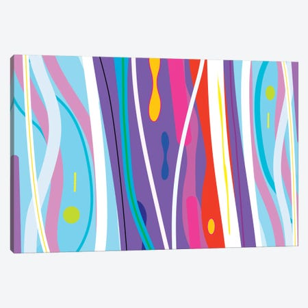 Fire Water Canvas Print #HRK11} by Charles Harker Canvas Wall Art