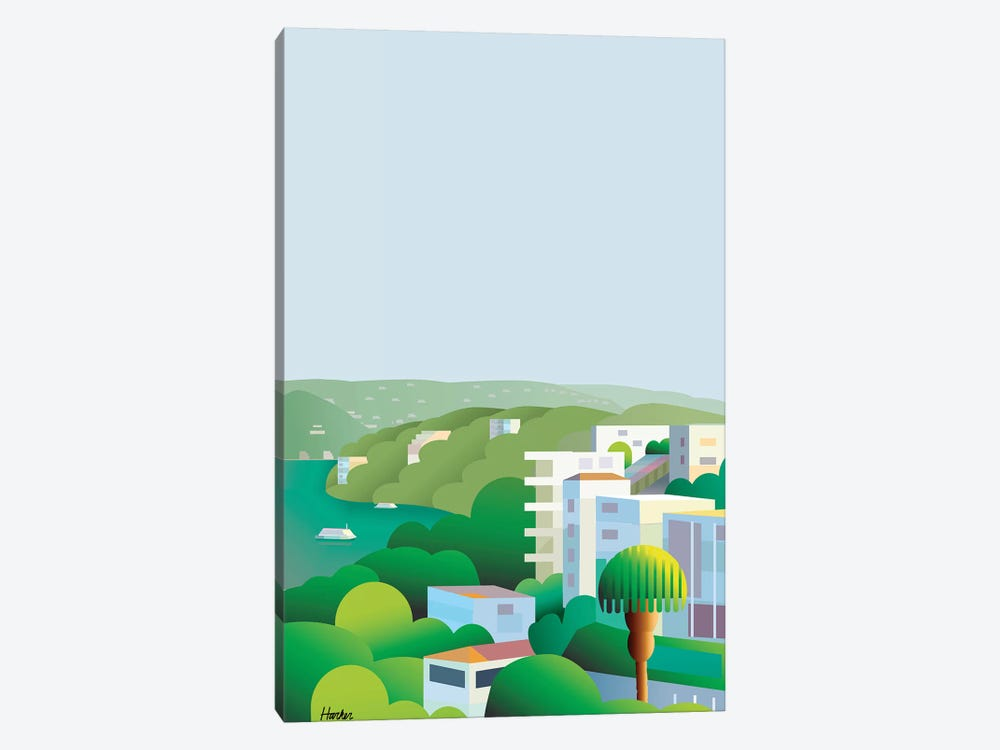Acapulco Breeze by Charles Harker 1-piece Canvas Art Print
