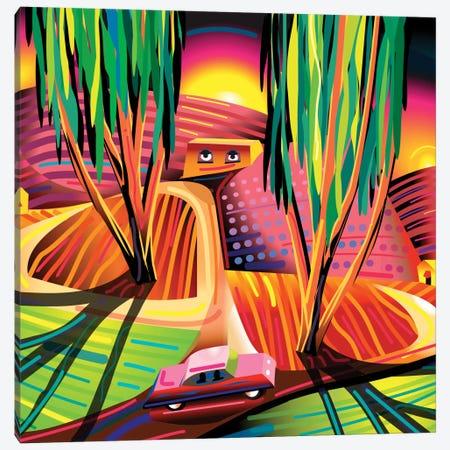 Gorilla Republic Canvas Print #HRK12} by Charles Harker Canvas Art