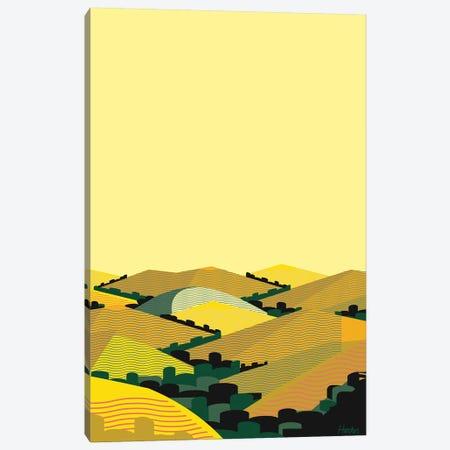 California Hills II Canvas Print #HRK134} by Charles Harker Canvas Wall Art
