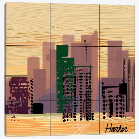 Dallas Canvas Print #HRK135} by Charles Harker Canvas Art