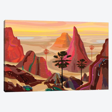 Healing Landscape Canvas Print #HRK13} by Charles Harker Canvas Artwork