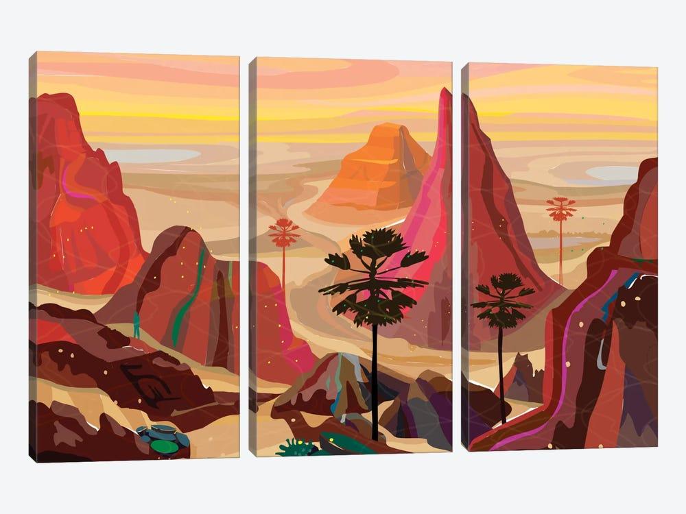 Healing Landscape by Charles Harker 3-piece Art Print