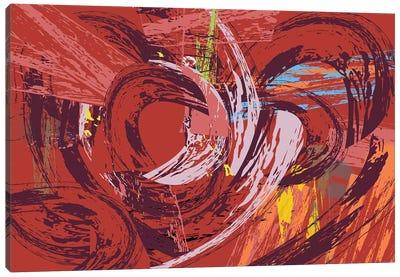 Red Bang I Canvas Art Print