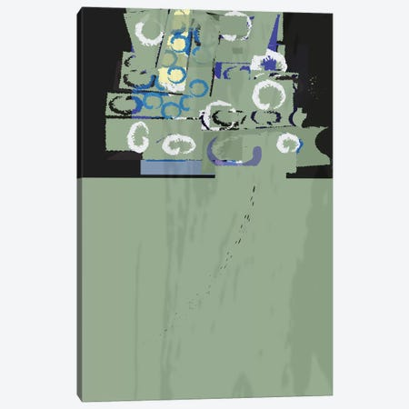 Rusty Green Canvas Print #HRK144} by Charles Harker Canvas Print