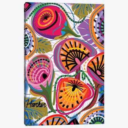 Wild Flowers Canvas Print #HRK145} by Charles Harker Canvas Art Print