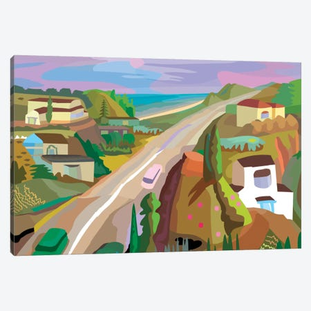 Highway 1 Canvas Print #HRK14} by Charles Harker Art Print