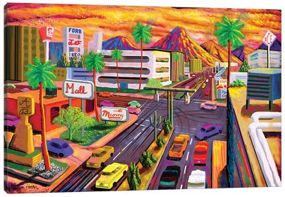 Camelback Road Phoenix  Canvas Art Print