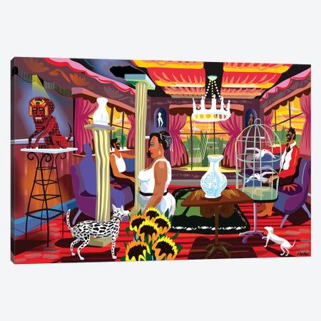 Casa de Jesús Malverde  Canvas Print #HRK159} by Charles Harker Canvas Art Print