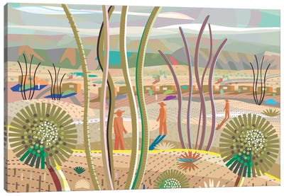 Joshua Tree Canvas Art Print
