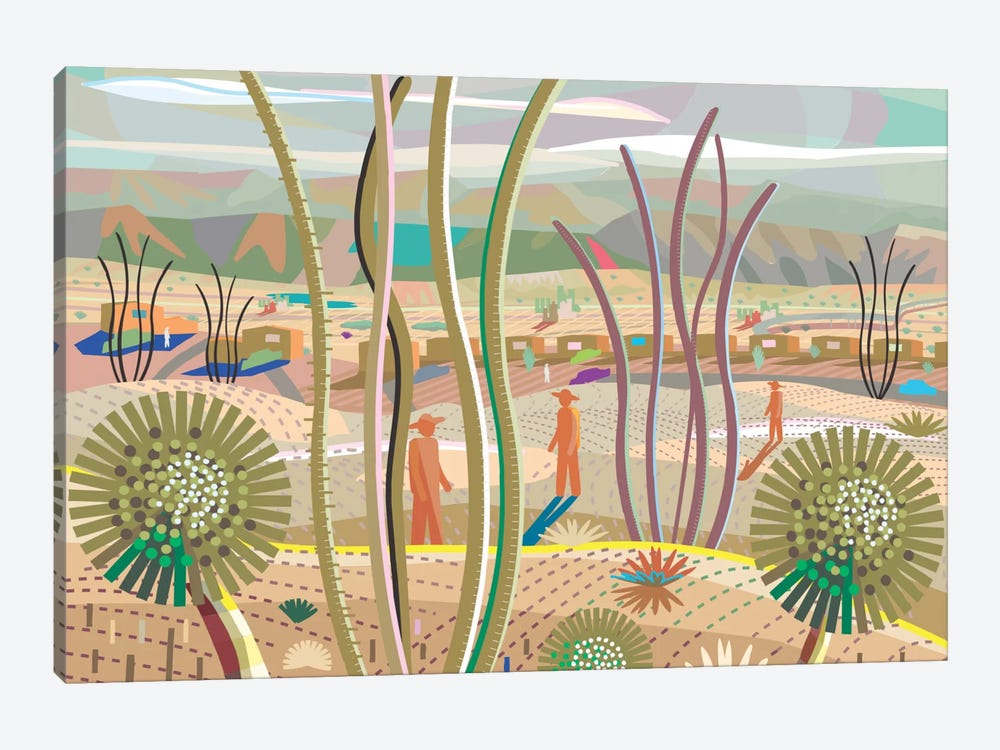 Joshua Tree by Charles Harker 1-piece Art Print