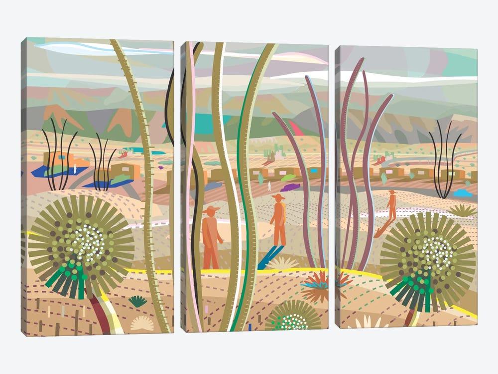 Joshua Tree by Charles Harker 3-piece Canvas Print
