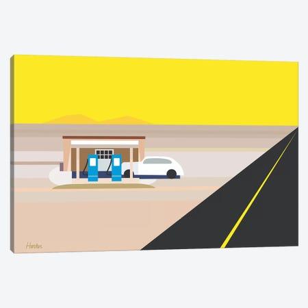 Desert Gas  Canvas Print #HRK161} by Charles Harker Canvas Artwork