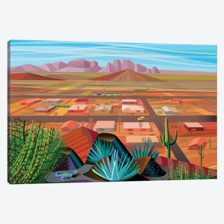 Maricopa County Canvas Print #HRK162} by Charles Harker Canvas Art