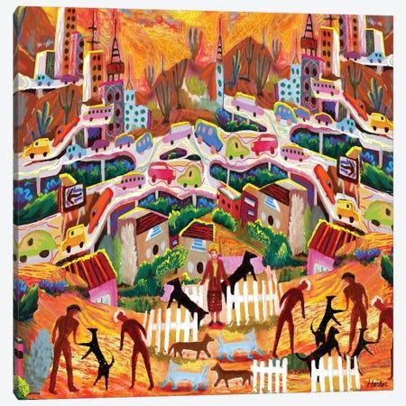 Ambos Nogales Canvas Print #HRK167} by Charles Harker Art Print