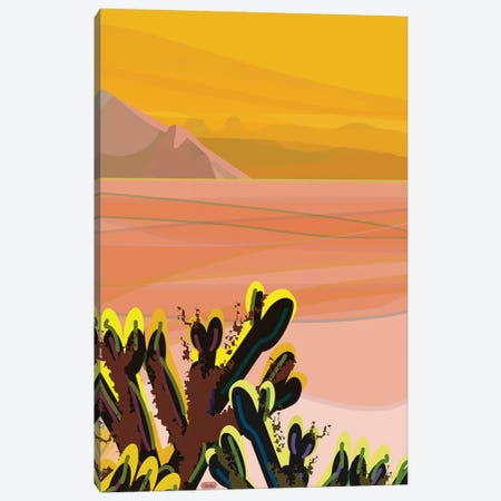 Cholla Canvas Print #HRK171} by Charles Harker Canvas Art Print