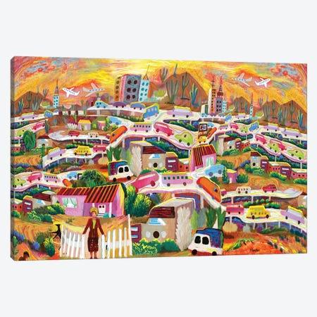 La Finikera Canvas Print #HRK174} by Charles Harker Canvas Wall Art
