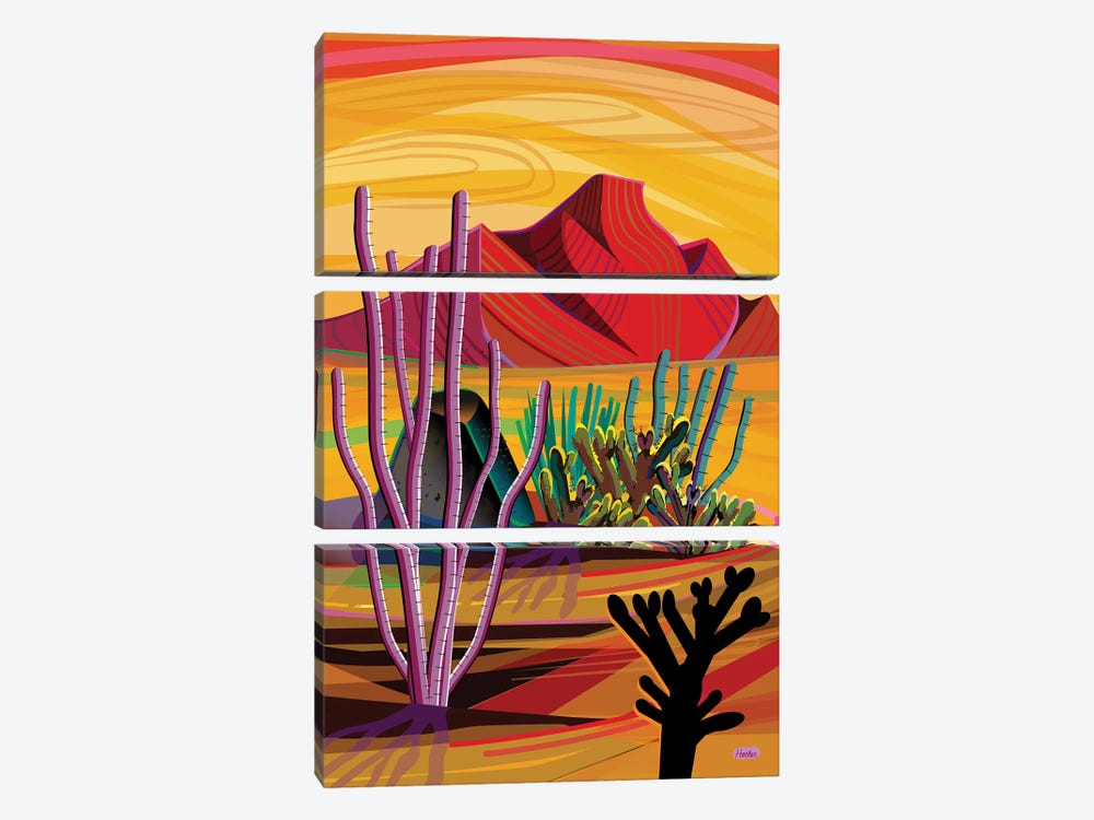 Love Mountain by Charles Harker 3-piece Canvas Artwork